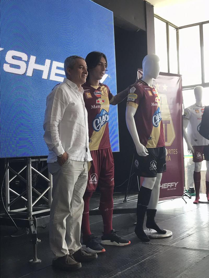 sheffy camiseta deportes tolima nueva
