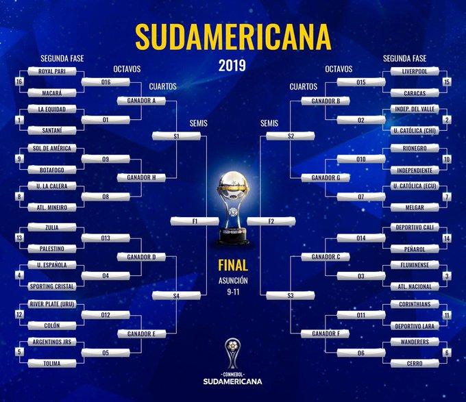 tolima sudamericana 2019